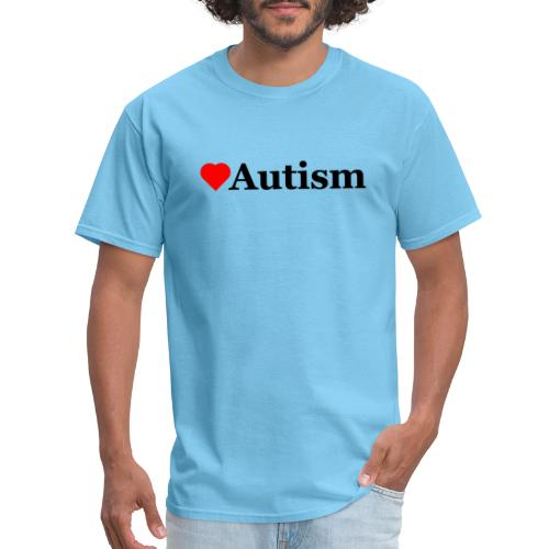 Heart Autism b - Men's T-Shirt