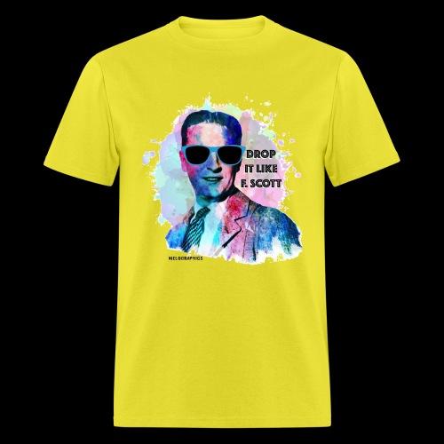 Drop it Like F. Scott | Write Music - Men's T-Shirt