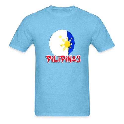 Blue White Red More Fun Philippines 9 - Men's T-Shirt