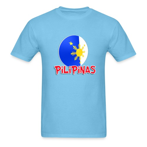 Blue White Red More Fun Philippines 8 - Men's T-Shirt