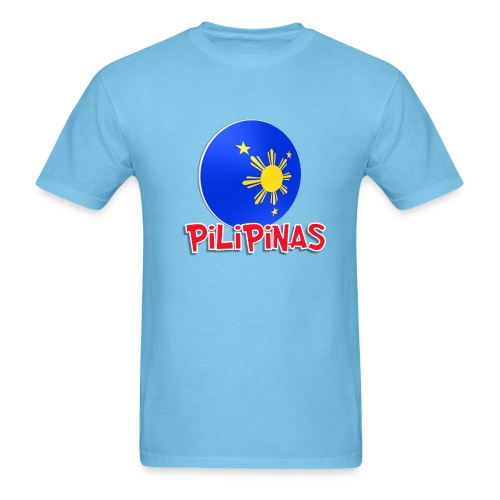 Blue White Red More Fun Philippines 7 - Men's T-Shirt