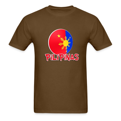 Blue White Red More Fun Philippines 2 - Men's T-Shirt