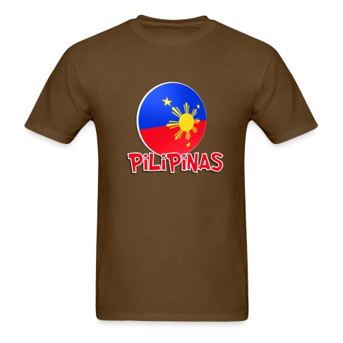 Blue White Red More Fun Philippines 1 - Men's T-Shirt