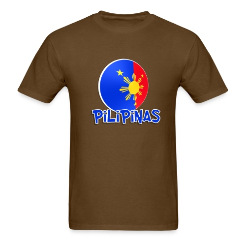 Blue White Red More Fun Philippines 3 - Men's T-Shirt