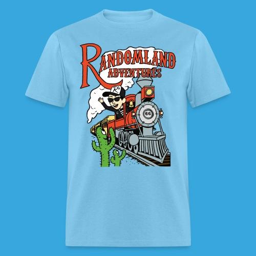 Randomland Railroad - Men's T-Shirt