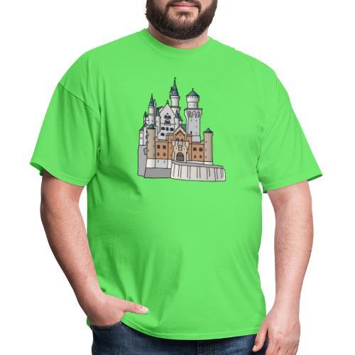 Neuschwanstein Castle, Bavaria - Men's T-Shirt