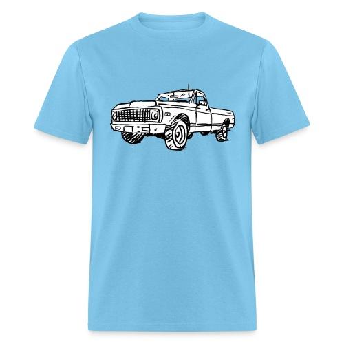 Old Chevy Pickup - Men's T-Shirt
