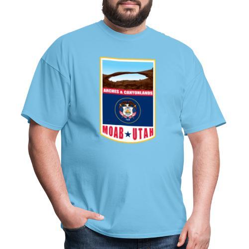 Utah - Moab, Arches & Canyonlands - Men's T-Shirt