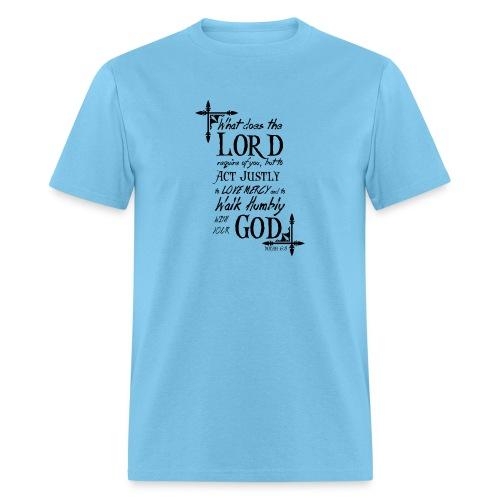 Micah 6:8 - Men's T-Shirt