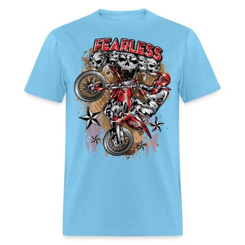 Fearless Motocross Honda - Men's T-Shirt