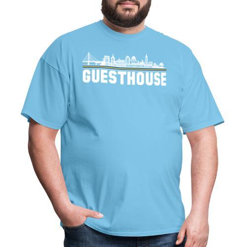 Guesthouse - Oakland Skyline - Men's T-Shirt
