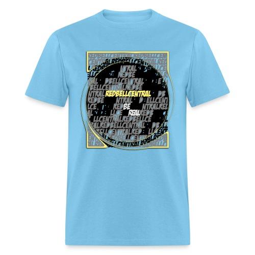 spreadshirt redbellcentralconformity1 2 bereal pn - Men's T-Shirt