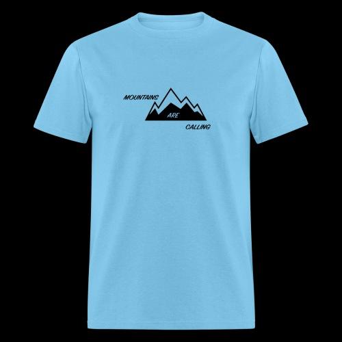 Mountain Design - Men's T-Shirt