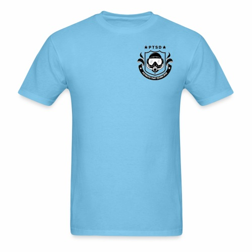 PTSD Crest - Men's T-Shirt