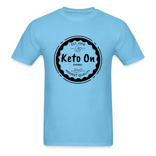 Keto On Highest Quality - Men's T-Shirt