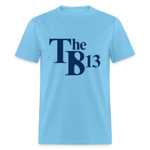 TBisthe813 BLUE - Men's T-Shirt