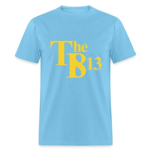 TBisthe813 YELLOW - Men's T-Shirt