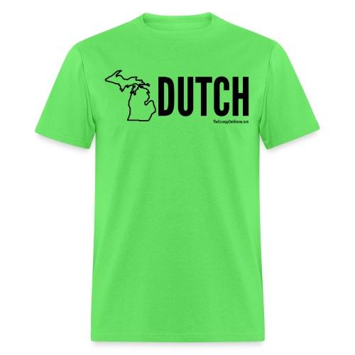 Michigan Dutch (black) - Men's T-Shirt