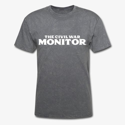 CWM LOGO WHITE - Men's T-Shirt