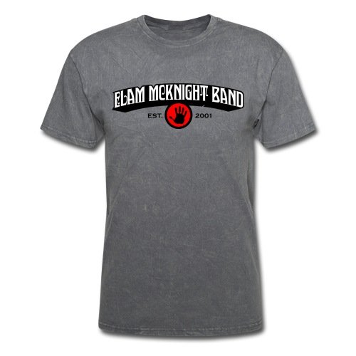 Elam McKnight Band Logo - Men's T-Shirt