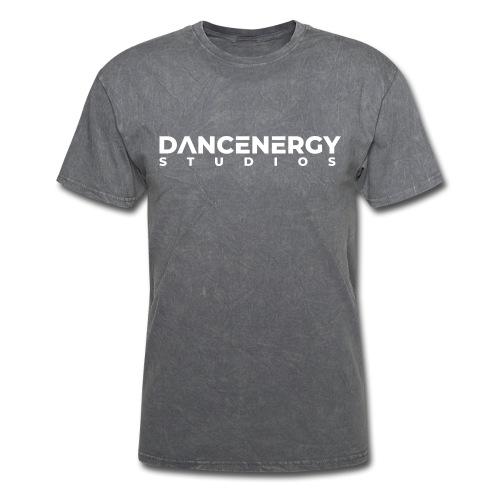 logo dancenergy 2019 white just text - Men's T-Shirt