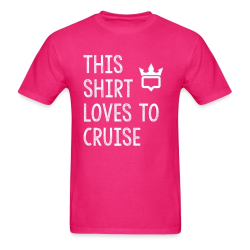 This shirt loves to cruise T-shirt - Men's T-Shirt
