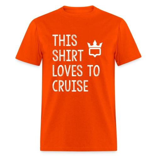 This shirt loves to cruise T-shirt - Men's T-Shirt