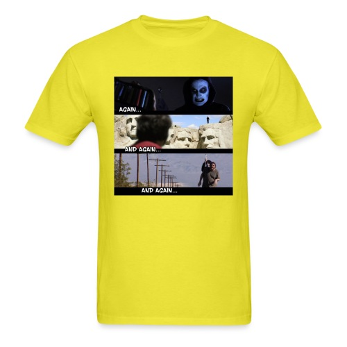 againandagainandagain - Men's T-Shirt