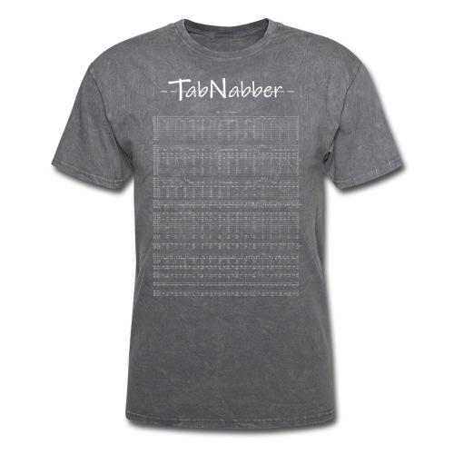 TabNabber Logo feat M3 / 13 Colonies Tab White - Men's T-Shirt