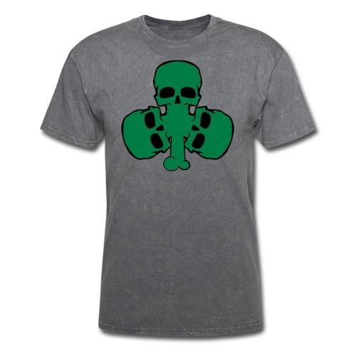 skull_shamrock - Men's T-Shirt
