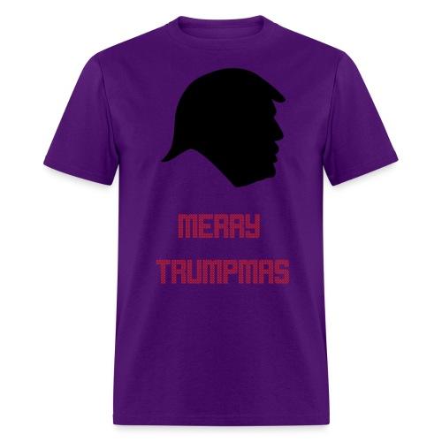 Merry Trumpmas Red - Men's T-Shirt