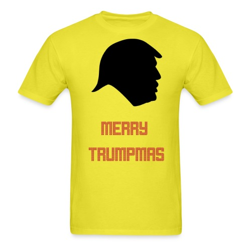Merry Trumpmas Red - Men's T-Shirt