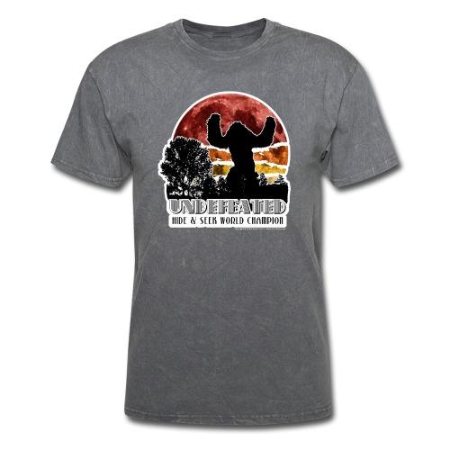 Sasquatch Hide & Seek Undefeated World Champion - Men's T-Shirt