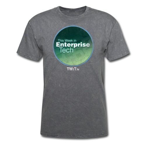 This Week in Enterprise Tech - distressed - Men's T-Shirt