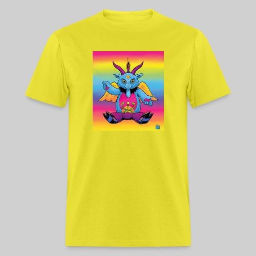 Rainbow Baphomet - Men's T-Shirt