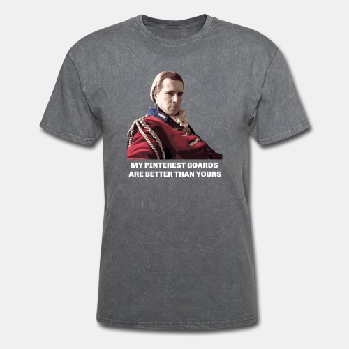 Lord John Grey - Pinterest Boards - Men's T-Shirt