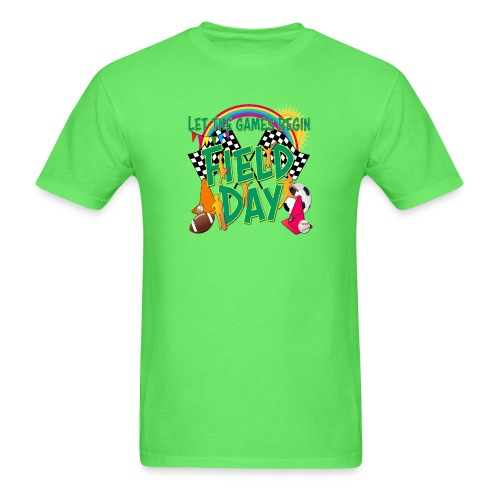 Field Day Games for SCHOOL - Men's T-Shirt