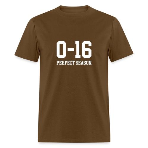 Detroit Lions 0 16 Perfect Season - Men's T-Shirt