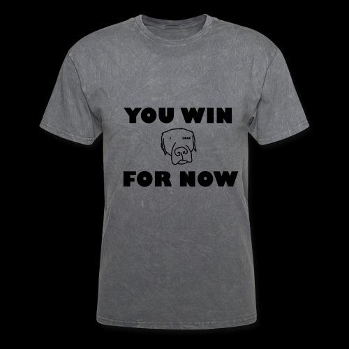 YOU WIN FOR NOW - Men + Womens T-Shirt - Men's T-Shirt