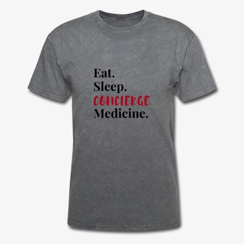 Eat Sleep Concierge Medicine - red - Men's T-Shirt