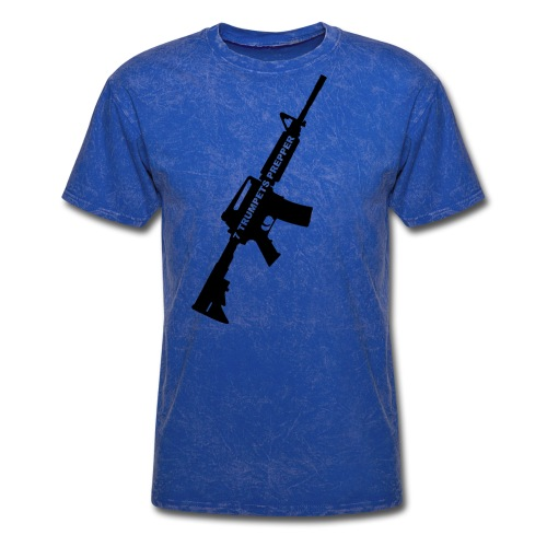 AR15 final cut transparent png - Men's T-Shirt