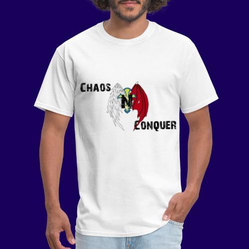 ChaosNConquer Design Logo - Men's T-Shirt