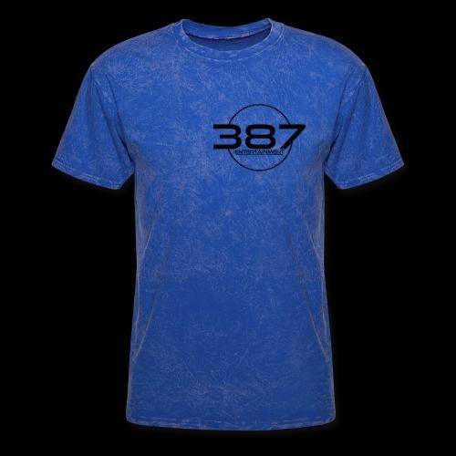 387 Entertainment Black - Men's T-Shirt