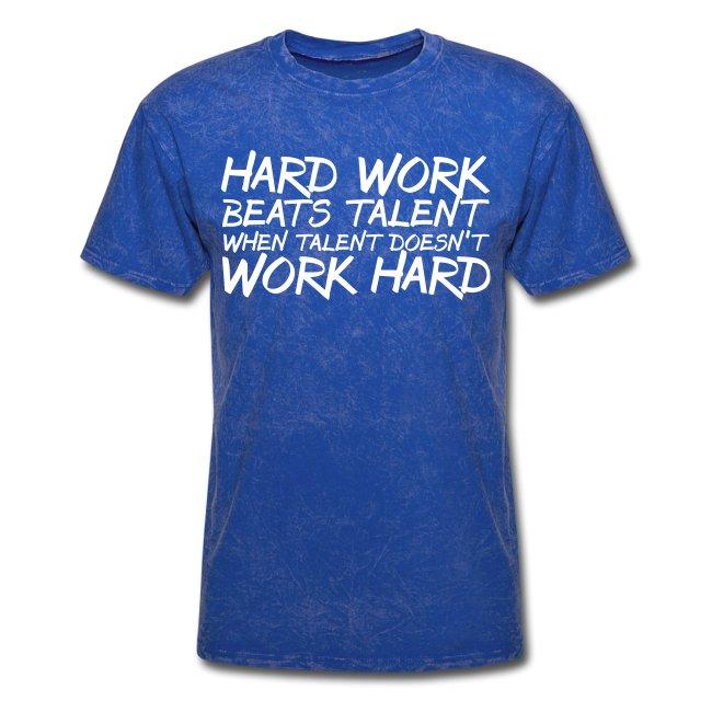 Hard Work Beats Talent
