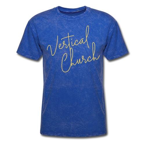 Vertical Church: Gold Rush - Men's T-Shirt