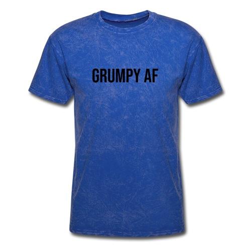 GRUMPY AF BLACK - Men's T-Shirt