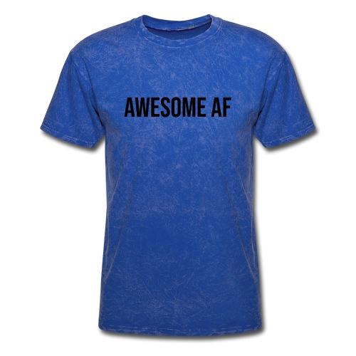 AWESOME AF BLACK - Men's T-Shirt