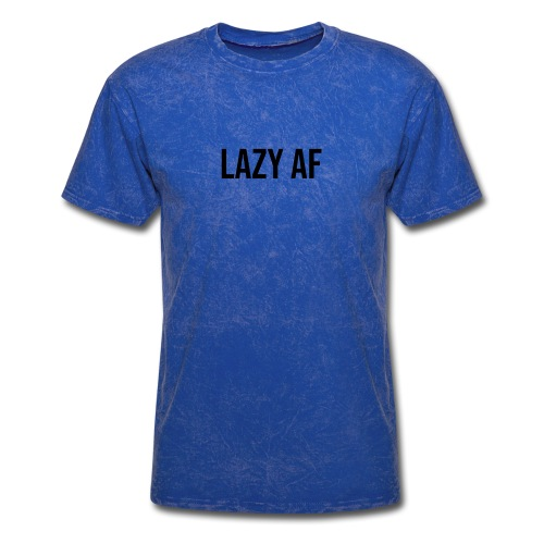 LAZY AF BLACK - Men's T-Shirt