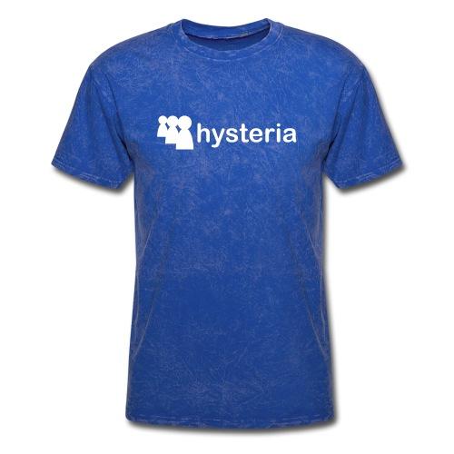 hysteria mspace - Men's T-Shirt