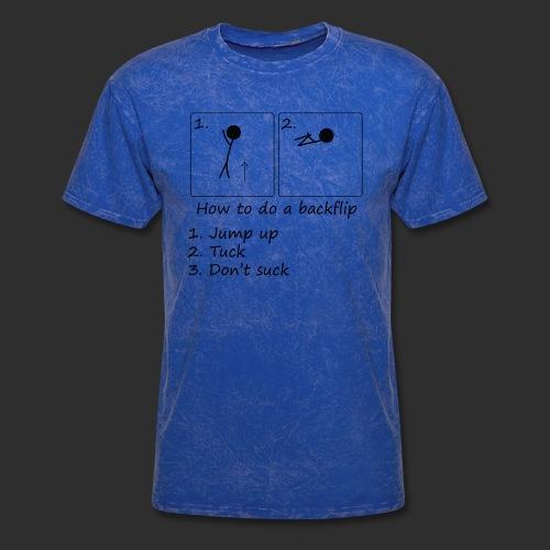 How to backflip - Men's T-Shirt